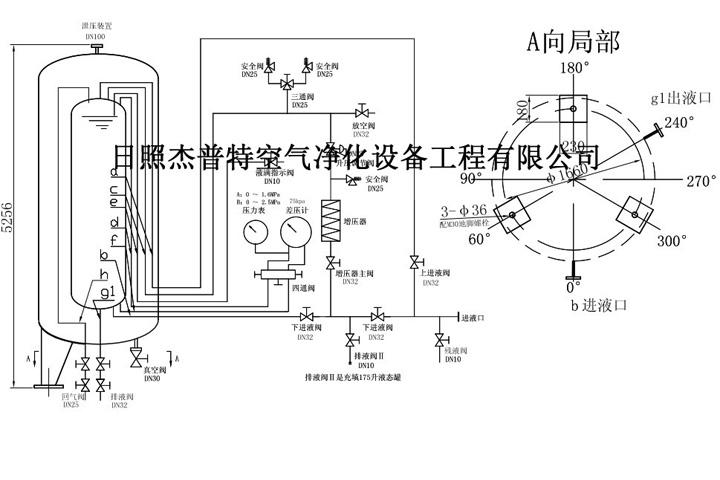 低温液氧罐结构设计图